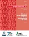 Novedad bibliográfica investigación sobre juventud, adolescencia, jóvenes. Cepal informe juventud rural en América Latina y el Caribe