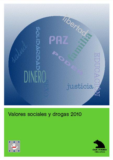 valores sociales y drogas