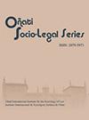 Novedad bibliográfica investigación sobre juventud, adolescencia, jóvenes Mayo 2020 - sistema juvenil - perspectiva de género -Oñati Socio-Legal Series