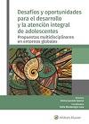 Novedad bibliográfica investigación sobre juventud, adolescencia, jóvenes Noviembre 2020 - desarrollo y atencion integral de adolescentes