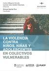 Novedad bibliográfica investigación sobre juventud, adolescencia, jóvenes Noviembre 2020 - violencia adolescente - colectivos vulnerables
