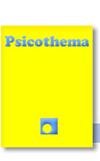 Novedad bibliográfica investigación sobre juventud, adolescencia, jóvenes Junio 2020 - Revista Psicothema - psicología