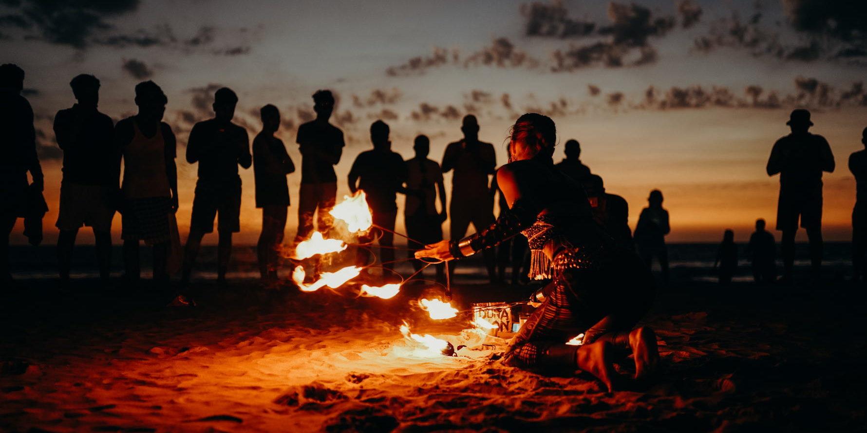 playa fuego san juan