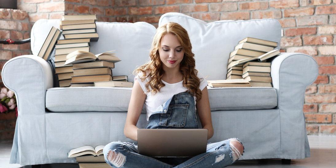 Mujer ordenador