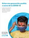 Novedad bibliográfica investigación sobre juventud, adolescencia, jóvenes marzo 2021 - informe UNICEF situación covid19